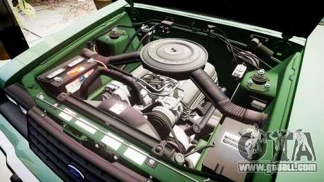 Ford LTD LX 1985 v1.6 for GTA 4 upper view