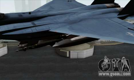 McDonnell Douglas F-15D Eagle GRDF for GTA San Andreas right view
