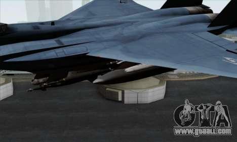 McDonnell Douglas F-15D Eagle GRDF for GTA San Andreas right view