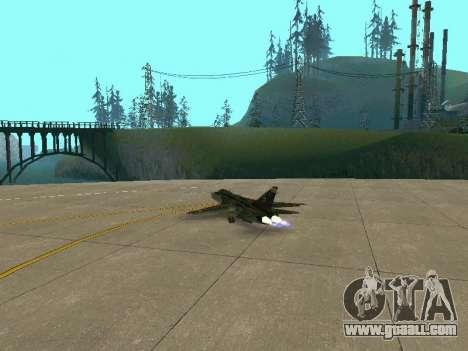 SU 24MR for GTA San Andreas side view