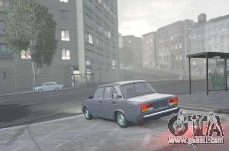 VAZ 2107 Drain for GTA 4 left view