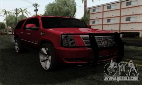 Cadillac Escalade 2013 for GTA San Andreas