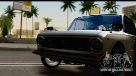 VAZ 2101 Cramps for GTA San Andreas back left view