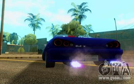 Elegy WorldDrift v1 for GTA San Andreas right view