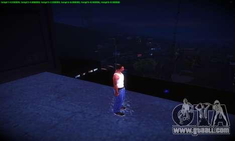 Ebin 7 ENB for GTA San Andreas eighth screenshot
