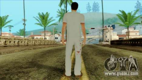 ER Alex Shepherd Skin without Flashlight for GTA San Andreas second screenshot