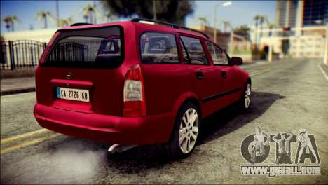 Opel Astra G Caravan for GTA San Andreas left view