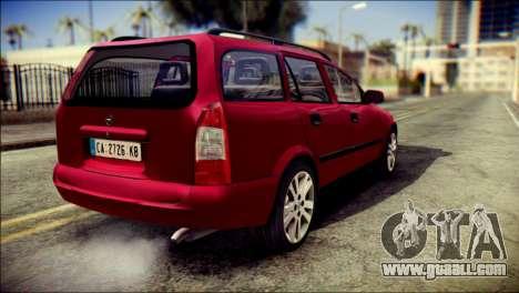 Opel Astra G Caravan for GTA San Andreas left view
