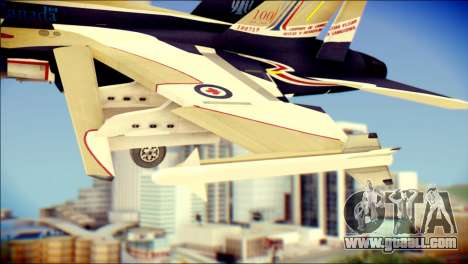 FA-18D Hornet RCAF for GTA San Andreas right view