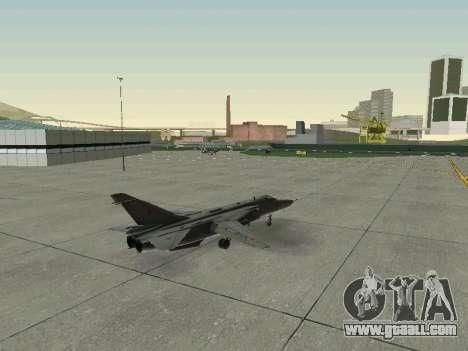 SU 24MR for GTA San Andreas upper view