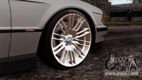 BMW 750iL E38 Romanian Edition for GTA San Andreas back left view