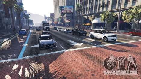 More traffic and population for GTA 5