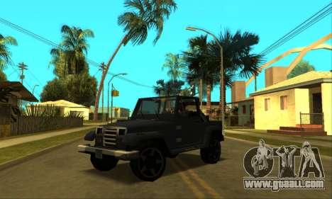 Mesa Final for GTA San Andreas wheels