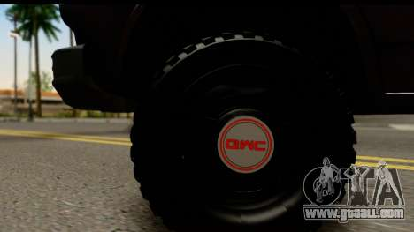 GMC Vandura G-1500 Payday 2 for GTA San Andreas back view