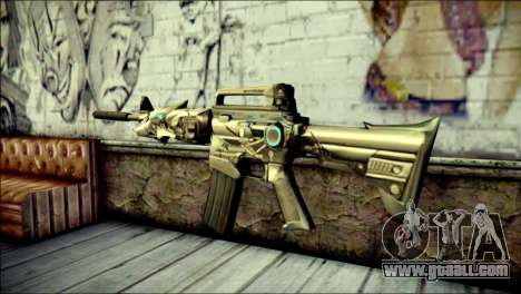 M4A1 Transformer CrossFire for GTA San Andreas second screenshot