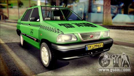 Kia Pride 141 Iranian Taxi for GTA San Andreas