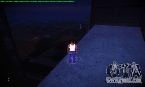 Ebin 7 ENB for GTA San Andreas ninth screenshot