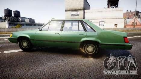 Ford LTD LX 1985 v1.6 for GTA 4 left view