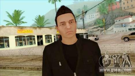 Claude from GTA 5 for GTA San Andreas
