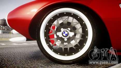 BMW 507 1959 Stock Hamann Shutt VX4 [RIV] for GTA 4 back view