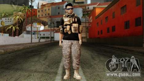 Medic from PMC for GTA San Andreas