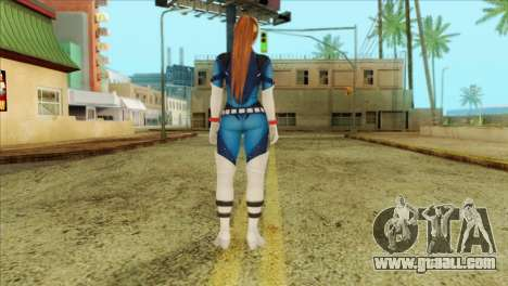 Dead Or Alive 5 LR Kasumi Fighter Force for GTA San Andreas second screenshot