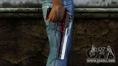Desert Eagle Polonia for GTA San Andreas third screenshot