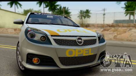 Opel Vectra for GTA San Andreas back left view