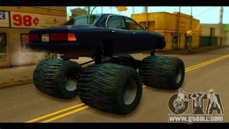 Monster Merit for GTA San Andreas left view