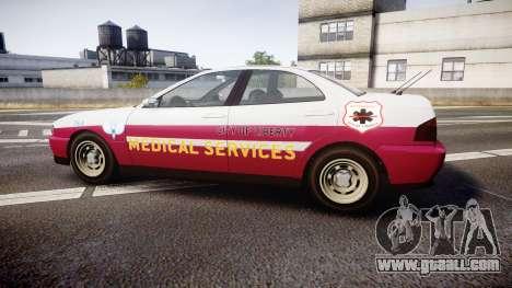 Dinka Chavos Paramedic for GTA 4 left view