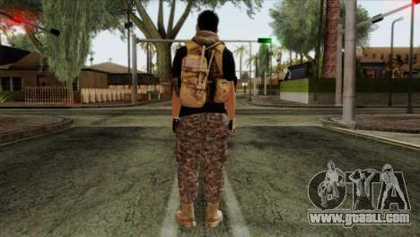 Medic from PMC for GTA San Andreas second screenshot