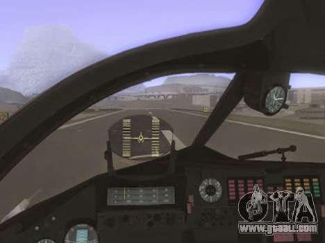 SU 24MR for GTA San Andreas right view