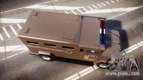 GTA V Brute Police Riot [ELS] skin 1 for GTA 4 right view