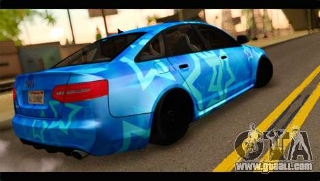 Audi RS6 VIP Star for GTA San Andreas left view