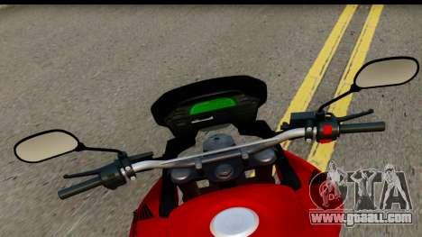 Honda XRE 300 v2.0 for GTA San Andreas back left view