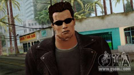 T-800 Skin for GTA San Andreas third screenshot