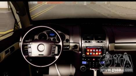 Toyota Land Cruiser 200 2013 for GTA San Andreas inner view