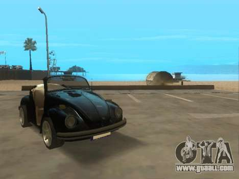 Volkswagen Beetle 1984 for GTA San Andreas left view