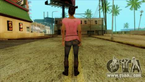 Rochelle from Left 4 Dead 2 for GTA San Andreas second screenshot