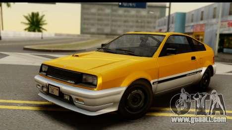 GTA 4 Blista Compact for GTA San Andreas