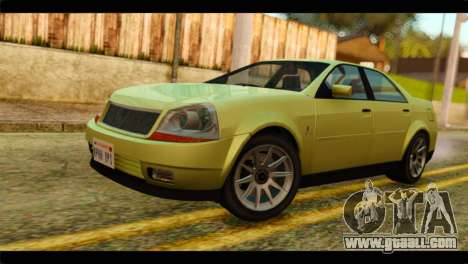 GTA 4 Presidente for GTA San Andreas