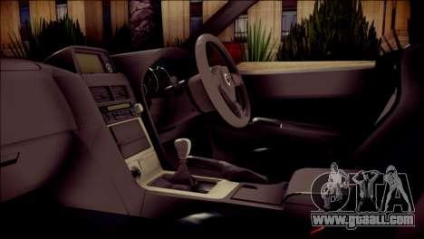 Nissan Skyline GTR V Spec II for GTA San Andreas right view