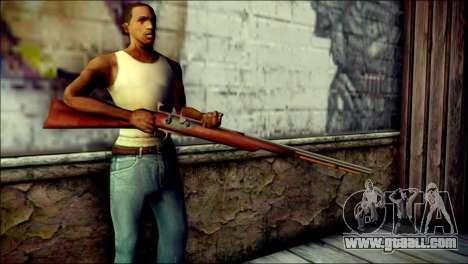 Tokisaki Kurumi Rifle for GTA San Andreas third screenshot