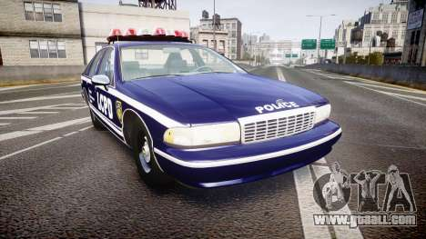 Chevrolet Caprice 1994 LCPD Auxiliary [ELS] for GTA 4