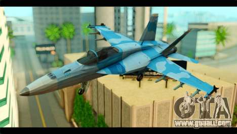 FA-18 Super Hornet Aggressor Squadron for GTA San Andreas
