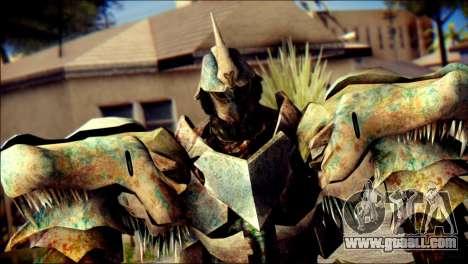 Grimlock Skin from Transformers for GTA San Andreas third screenshot