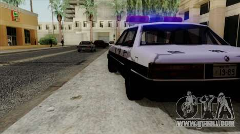 Karin Primo Police for GTA San Andreas right view