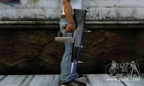 AA-12 Weapon for GTA San Andreas third screenshot