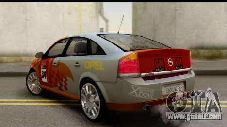 Opel Vectra for GTA San Andreas left view