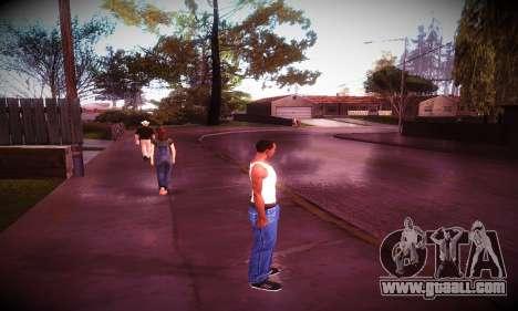 Ebin 7 ENB for GTA San Andreas forth screenshot
